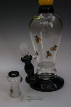 SOUR Glass Bees 50mm Frit Disk