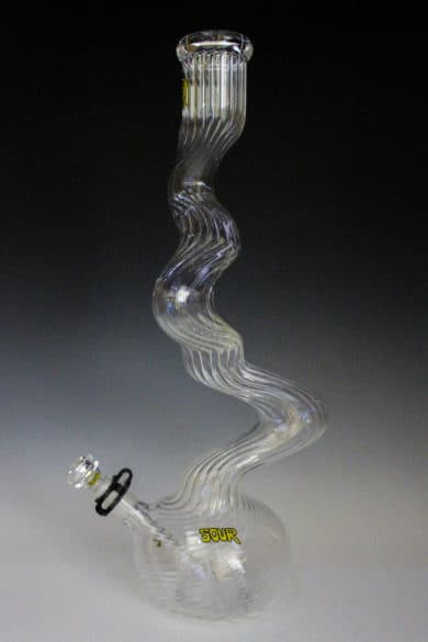 """Sour Glass Fat Twist 20"""" ribbed"""