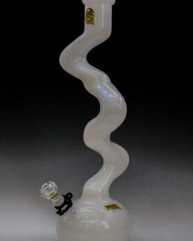 "Sour Glass Fat Twist 20"" white"