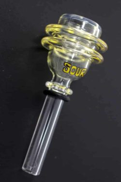 Sour 2-ring glass bowl