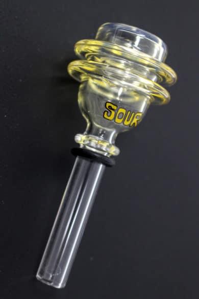 Sour 2-ring glass bowl